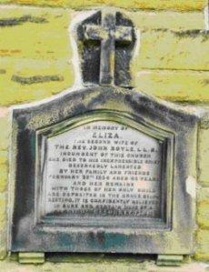 Headstone Eliza